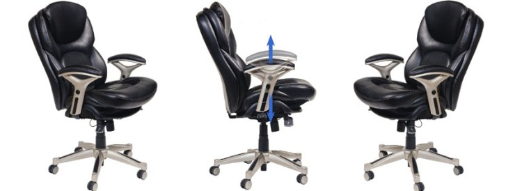 Serta Back in Motion Health and Wellness Mid-Back Office Chair