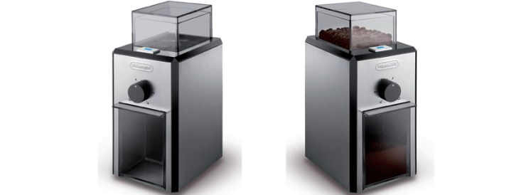 DeLonghi Stainless Steel Burr Coffee Grinder