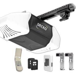 Decko Power Heavy Duty Reduced Noise Chain Drive Garage Door Opener