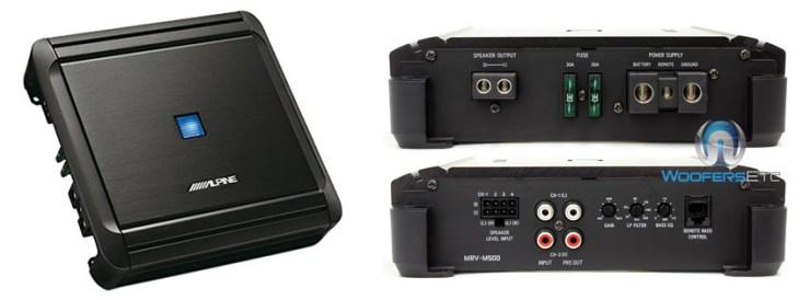 Alpine MRV-M Mono V-Power Digital Amplifier