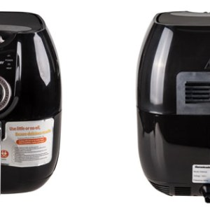 Homeleader Oil less Air Fryer HLK Low fat more healthy Black