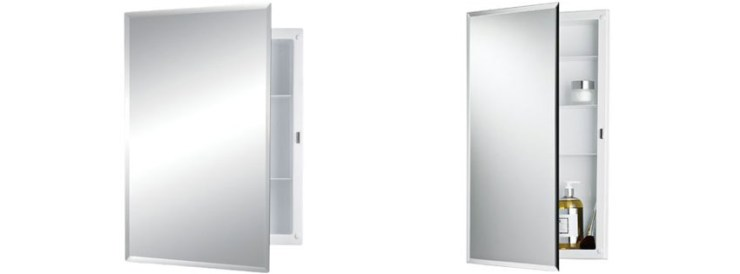 Jensen Builder Series Frameless Medicine Cabinet