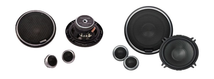Kenwood Kfc-PPs Inch Performance Series Component Speaker System