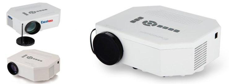 Taotaole Multi-media Portable LED Projection Micro Projector