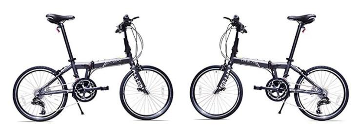 Allen Sports XWay 20 Speed Folding Bicycle