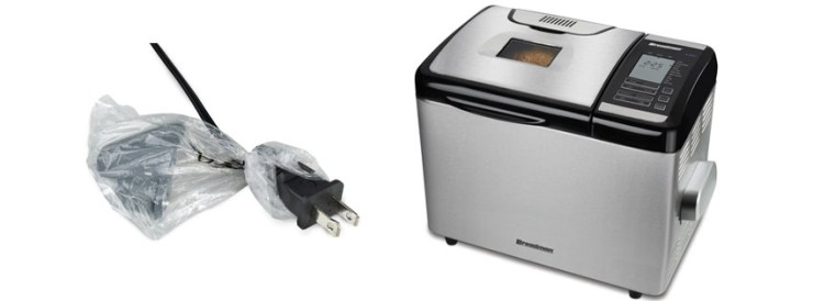 Breadman Stainless-Steel Programmable Convection Bread Maker