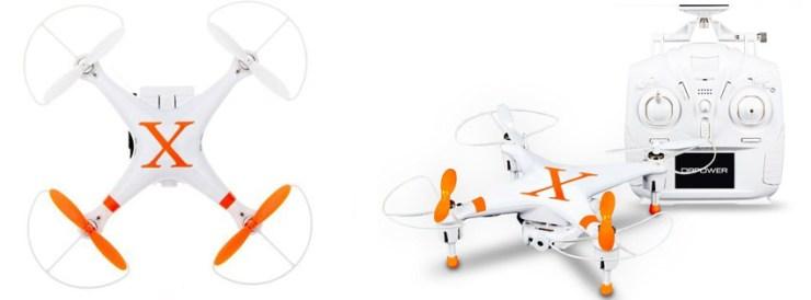 DBPOWER Hawkeye-II FPV 4CH 6 Quadcopter Drone