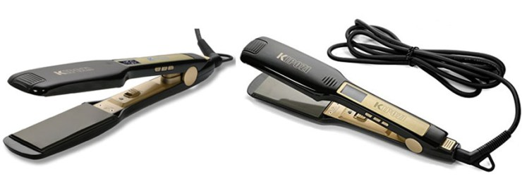 KIPOZI Professional Titanium Hair Straightener Flat Iron