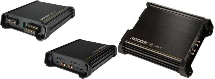 Kicker 11DX200.4 4-Channel DX Amplifier