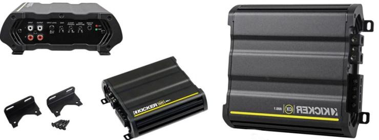 Kicker CX600 1200 Watts Peak600 Watts Car Amplifier