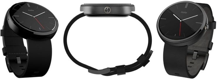 Motorola Moto 360 Black Smart Watch