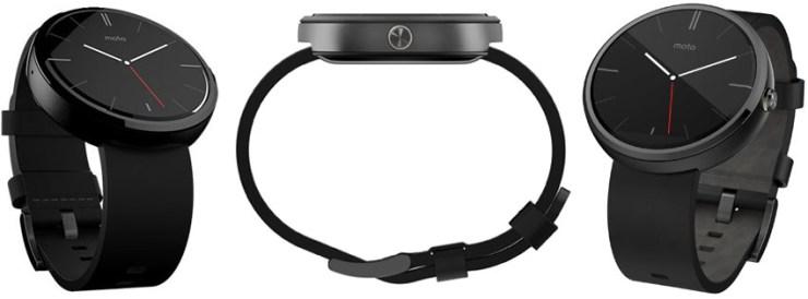 Motorola Moto 360 Black Smart Watch