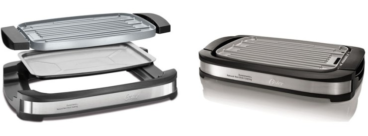 Oster DuraCeramic Reversible Grill and Griddle