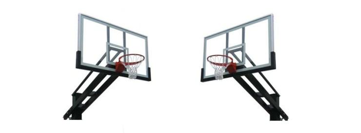Pro Dunk Platinum Adjustable Outdoor Basketball Goal Hoop