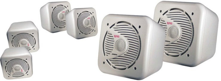 Pyle PLMR63 Pair 200 Watt Speakers