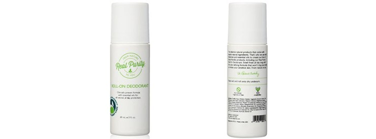 Real Purity Natural Deodorant