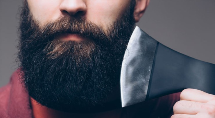 moisture your beard and clean