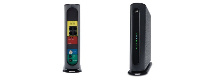 Motorola High-Speed Cable Gateway with Wi-Fi AC Wi-Fi Gigabit Router