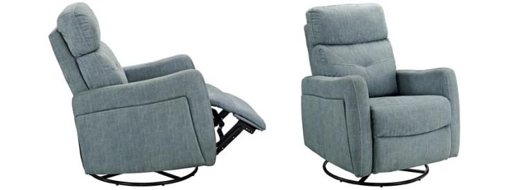Stork Craft Premium Nursery Glider and Ottoman Chair Rocker