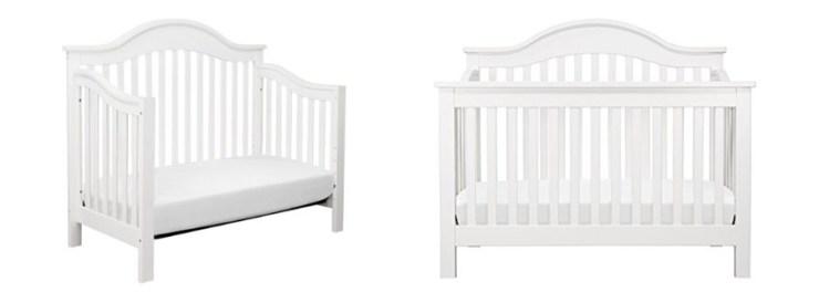 DaVinci Emily Mini Convertible Wood Baby Crib