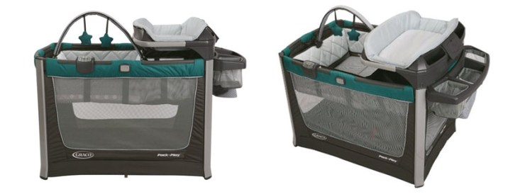 Graco Pack N Play Playard Smart Stations