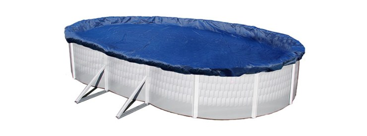 Blue Wave Gold Oval Above Ground Pool Winter Cover