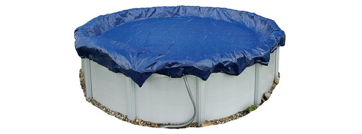 Blue Wave Gold Year ft Round Above Ground Pool Winter Cover