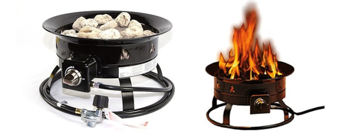 Heininger BTU Portable Propane Outdoor Fire Pit
