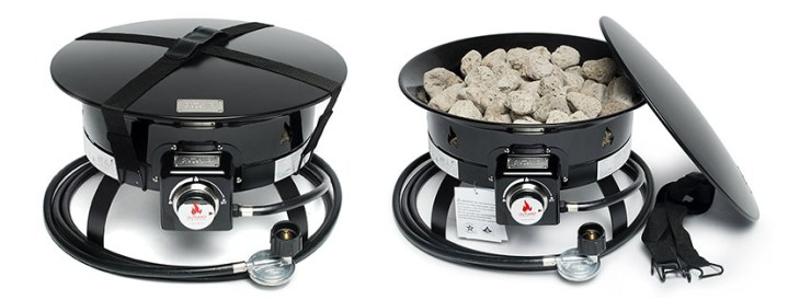 Outland Firebowl Deluxe Portable Propane Fire Pit