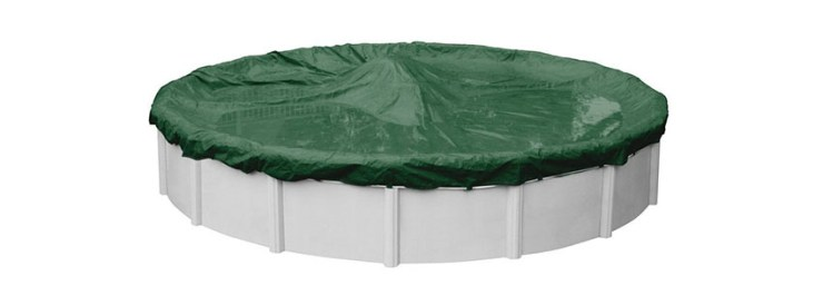 Pool Mate PM Round Above Ground Swimming Pool Winter Cover