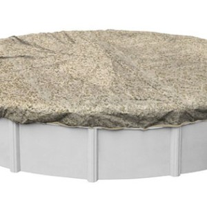 Pool Mate Sandstone Winter Cover for Foot Round Above Ground Swimming Pools