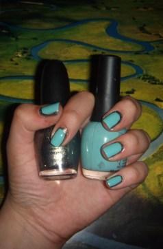 Nail art, Chanel, Sephora by OPI, Fingerpaints