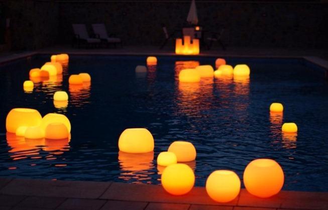Iniciar un negocio de decoracin con velas flotantes para