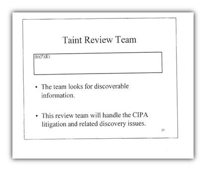 Taint Review Team 2