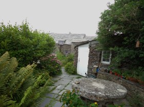 The Garden of the Old Post Office, Tintagel.