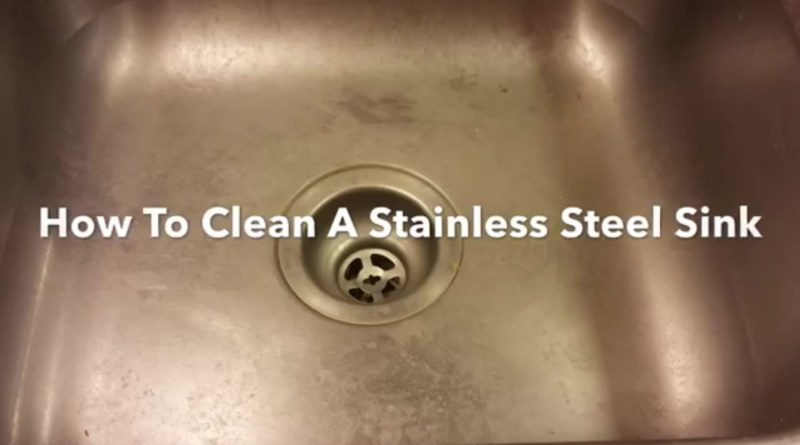How To Clean A Stainless Steel Sink Clean Polish And