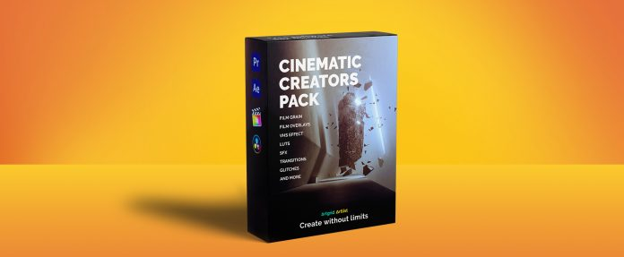 Artlist Cinematic Creator Pack 2020 - Free Download VFX - FREE Adobe Premiere Pro - FREE After Effects CC Full Key