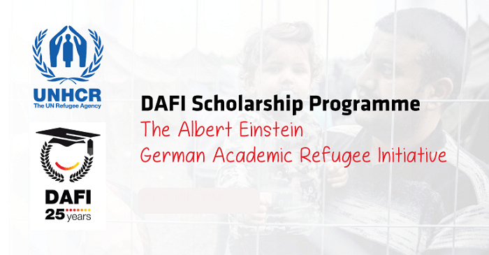 UNHCR DAFI (Albert Einstein German Academic Refugee Initiative) Scholarship for International Refugee Students (Deadline: 31 October 2019)