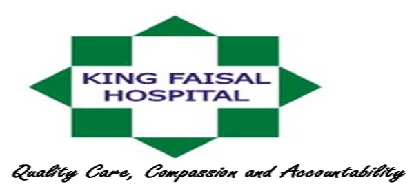5 Positions at King Faisal Hospital: (Deadline 14 May 2021)