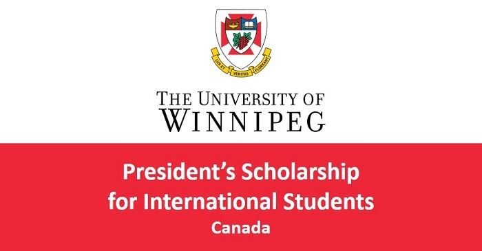 Study in United States ; Winnipeg President's Scholarships for World Leaders for International Students (Deadline: 30 September 2019)