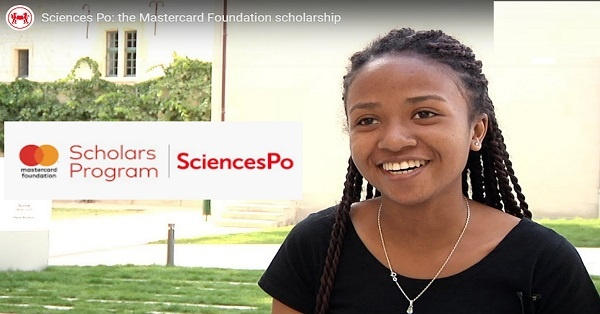 Sciences Po Mastercard Foundation (Bachelor & Master) Scholars Program 2020/2021 for study in France (Fully Funded to France) : ( Deadline : 29 January 2020 )
