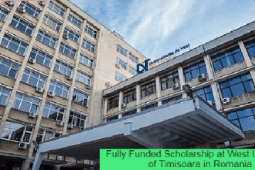 Fully Funded Scholarship in Romania: (Deadline 16 March 2021)