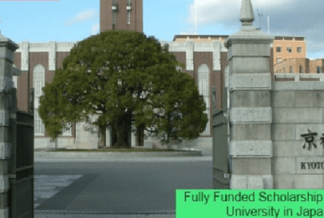 Fully Funded Scholarship at Kyoto University in Japan: (Deadline Ongoing)