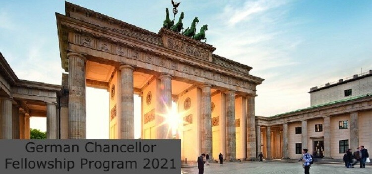 German Chancellor Fellowship Program 2021: (Deadline 15 October 2021)