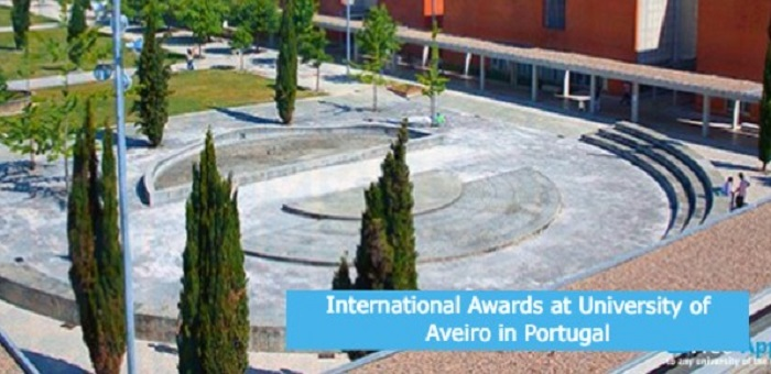 International Awards at University of Aveiro in Portugal: (Deadline Ongoing)