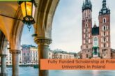 Fully Funded Scholarship at Poland Universities in Poland: (Deadline Ongoing)