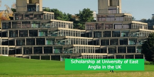 Scholarship at University of East Anglia in the UK: (Deadline 1 June 2021)