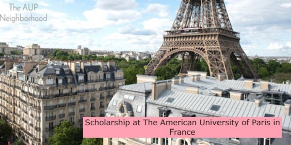 Scholarship at American University in France: (Deadline 15 November 2021)