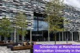 Scholarship at Manchester University in the UK: (Deadline 13 July 2021)