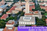 Scholarship at University of Texas at Austin in the USA: (Deadline 1 November 2021)